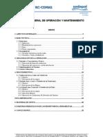 Manual de Operacion y Mantenimiento-III
