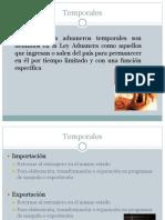 Regímenes Temporales