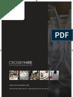 Crosby Hire Brochure