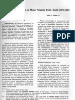 As pesquisas arqueológicas no Museu Paraense Emílio Goeldi (1870-1981) v11n1a39