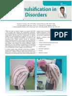 Phacoemulsification in Postural Disorders, Dr Suresh K Pandey, SuVi Eye Institute, Kota, India