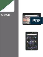 Manual U-tech Tablet.