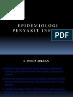 EPIDEMIOLOGI PENYAKIT INFEKSI