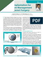 Pearls for Toric IOL Implantation During Cataract Surgery Dr Suresh K Pandey, SuVi Eye Institute & Lasik Laser Center, Kota India
