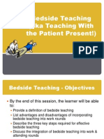 Bedside Teaching BASICS
