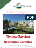 Albania Real Estate in Tirana - Tirana Garden Residence