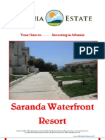 Albania Property for Sale - Saranda Waterfront Residence