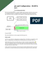 RAID Concepts and Configuration
