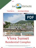 Albanian Real Estate for Sale - Vlora Sunset Residence