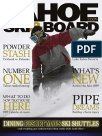 Tahoe Ski & Board 2008-2009