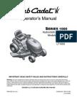 Cub Cadet User Manual LT1042-LT1045-LT1046-LT1050