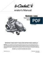 Cub Cadet User Manual LT1042-LT1045-LT1046-LT1050