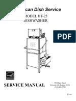 HT-25 Service Manual 2009
