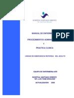 MANUAL de Procedimientos y Practica Clinica UER Actualizado 2008