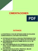 4º SEM. CIMENTACIONES