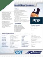 Crankcase Pressure Transmitter P356DS