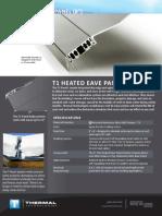 T1 Eave Panel Datasheet