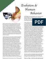 Handout Evol Human Behavior