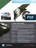 T Zone Eave Panel Datasheet