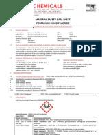 MSDS Reach Potassium Silico Fluoride