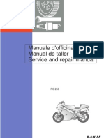 Aprilia RS250 Repair Manual 1998