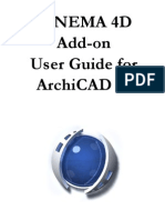 22 CINEMA 4D Add-On User Guide for AC 15