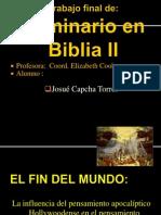 Trabajo Final de Seminario en Biblia II