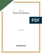 Portable Advertising Board (1)