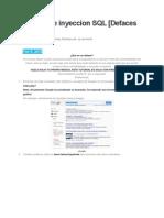 Tutorial de Inyeccion SQL