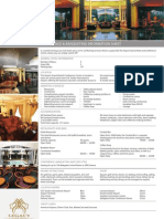 The Airport Grand Hotel Fact Sheet