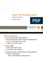 Fedict Eid Roadmap 2010