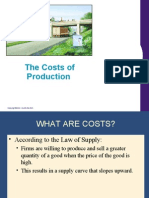 Chap Cost of Production