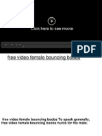 free video female bouncing boobs