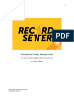Record Setter Attempt Pendings Guide