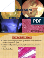 Management of Cholesteatoma