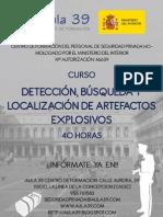 DETECCIÓN  BÚSQUEDA ARTEFACTOS