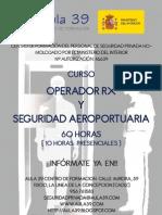 Operador Rx y Seguridad Aeroportuaria