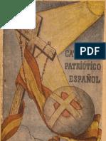 CATECISMO PATRIOTICO ESPAÑOL 1939