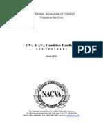 CVA AVA Candidate Handbook