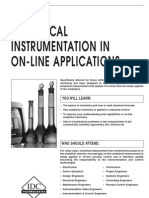 Analytical Instrumentation in on-Line Applications 11111