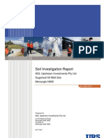AGL Sugar Loaf 03 Soil Invest Rpt Final