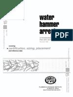 PDI-200 Water Hammer