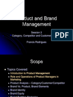 Product and Brand Management - Session 2