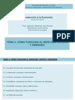 Tema 3. Como Funciona El Mercado (11-12)
