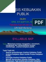 ANALISIS KEBIJAKAN PUBLIK (2)