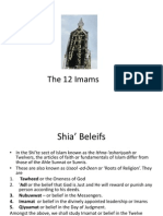 The 12 Imams Revision Chart