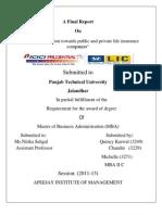 Icici Pru Project Qc