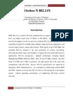 Wireless  IEEE 802.11 N