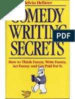 Melvin Helitzer - Comedy Writing Secrets