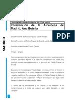 Discurso de Ana Botella en el 15 Congreso del PP de Madrid